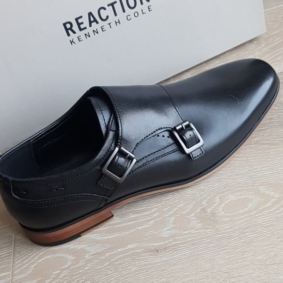 Kenneth Cole Reaction Other - Kenneth Cole Reaction Guy Monk Strap oxfords blk